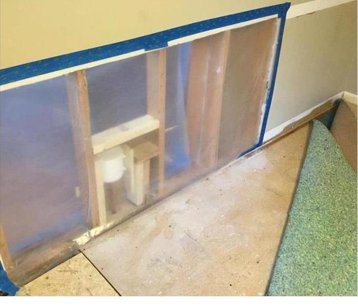 Mold Remediation Leak causes mold growth in Christian County