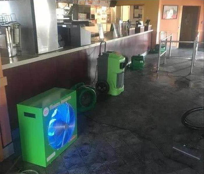 Ozone generators, humidifiers placed at a restaurant